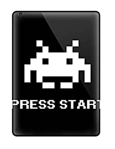 Cute Appearance Covers/kxj5957sMFO Space Invaders Press Start Cases For Ipad Air