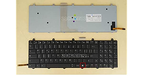 NEW For Clevo P150SM P157SM P170SM Keyboard Backlit US WIN