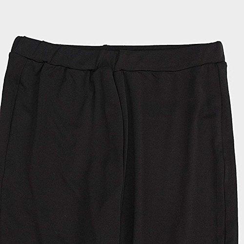 Slim Casual Jeans Crayon Trous Et Noir Trousers Treggins Tendance Maigre Fit Fashion Pantalons lgant Perle Dame Femme Longues Battercake 8vPwA5