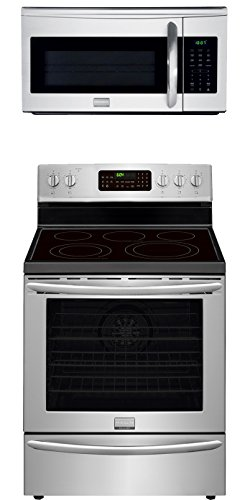 Frigidaire Gallery 2-Piece Stainless Steel Kitchen Package with FGEF3058RF 30