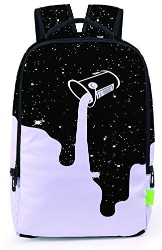 Pizoff Doulbe Mesh Padded Adjustable Shoulder Straps Cute Contrast Print Zipper Kids School Bookbags Rucksack Travel Laptop Backpacks Boys Girls - Von Zipper Online