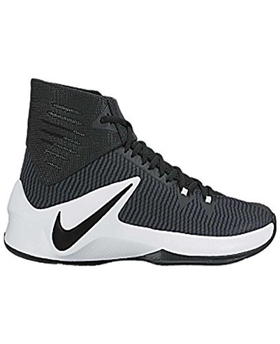 new style b01e4 fc88c Galleon - NIKE Men s Zoom Clear Out Basketball Shoes (Black White, 10.5)