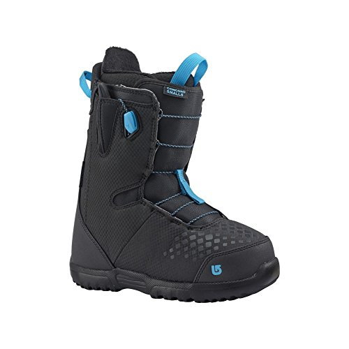 Burton Kids' Concord Smalls Snowboard Boots - Black/Blue - 7K (Grom Lace Boot)