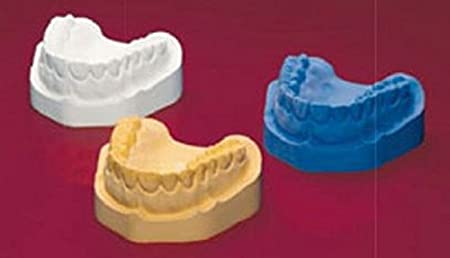 5kg Dentalgips Typ4 Baseflow 300 vom Typ 4 Hightech Modellgips in drei Farben (blau) OBG GmbH