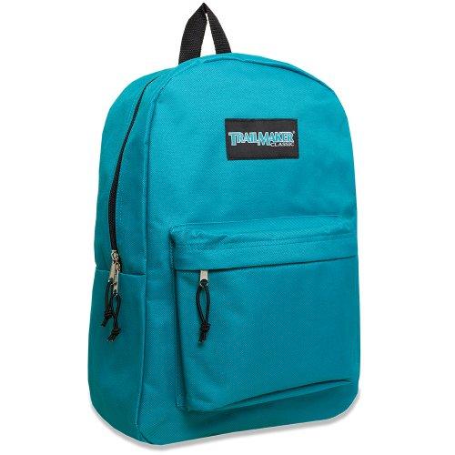17' Trailmaker Backpack Bookbag (Turquoise)