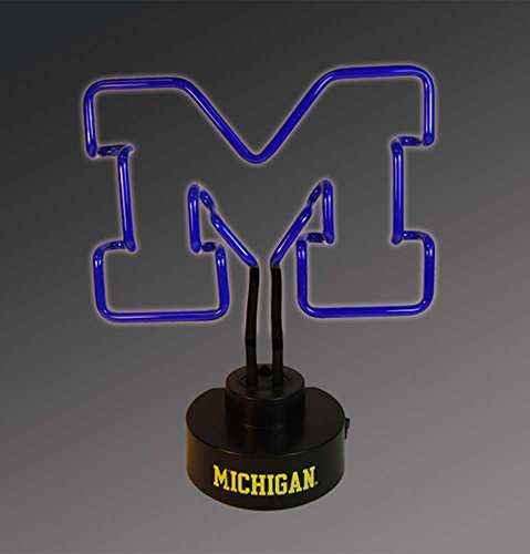 NCAA The University of Michigan Col-MH-1808Neon Lamp, Multi, One Size (University Neon Lamp)