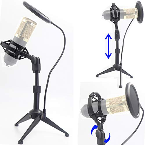 Desktop Microphone Tripod Suspension