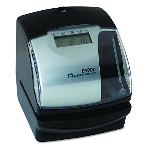 Acroprint ES900 Electronic Payroll Recorder/Time Stamp/Numbering Machine by Acroprint (Image #2)