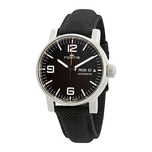 Fortis Spacematic Automatic Black Dial Men's Watch 623.10.18.LP.10