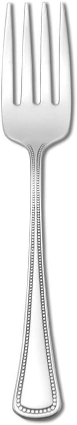 "Oneida 2544FSLF Needlepoint S/S 6-1/8"" Salad Fork - Dozen 41CEgCwDSiL"