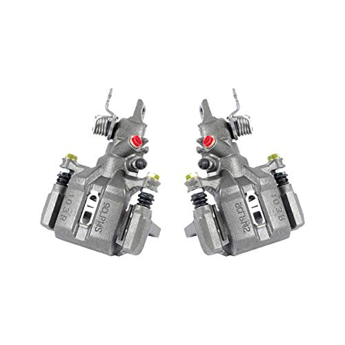 CKOE01005 [ 2 ] REAR Premium Grade OE Semi-Loaded Caliper Assembly Pair Set ()