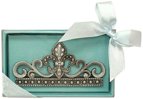 - Fei Gifts Fleur de Lis Card Holder