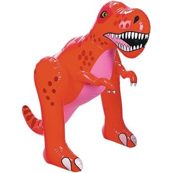 latable Dinosaur Dino Inflate/New Novelty, 4', Vinyl (Fun Inflatable)