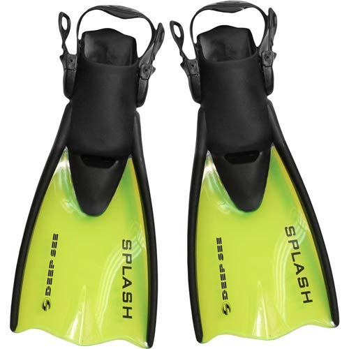 - Deep See Jr. Splash Fins (Kids') 1-4 Yellow