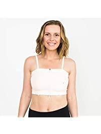 Simple Wishes Hands-Free Breastpump Bra, Pink, XS-L