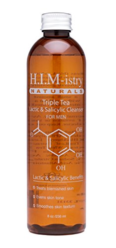 - Himistry Naturals Triple Tea Glycolic Cleanser for Men