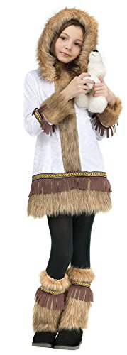 Fun World Eskimo Kids Costume White