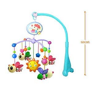Amazon.com : Baby Infant Toys Bed Crib Musical Hanging