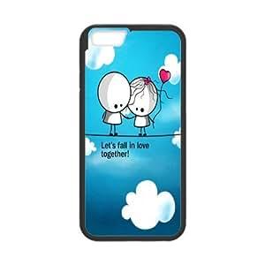 Cute Couple Design Iphone 6 Case Cover