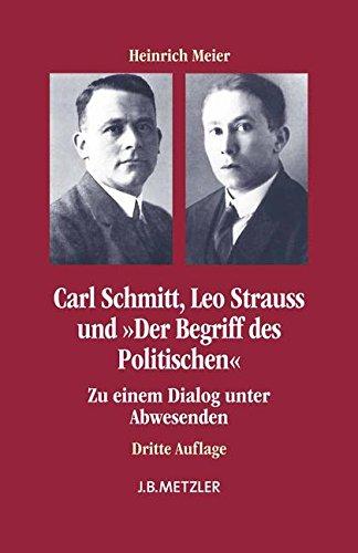 Carl Schmitt, Leo Strauss und