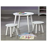 Kids Furniture kids table stools set in white bedroom or playroom furniture