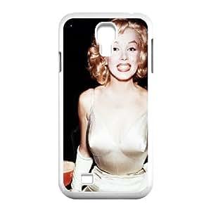 Tyquin Marilyn Monroe Samsung Galaxy S4 Cases Marilyn Monroe Rum for Teen Girls Protective, Samsung Galaxy S4 Case Cute for Teen Girls Protective [White]