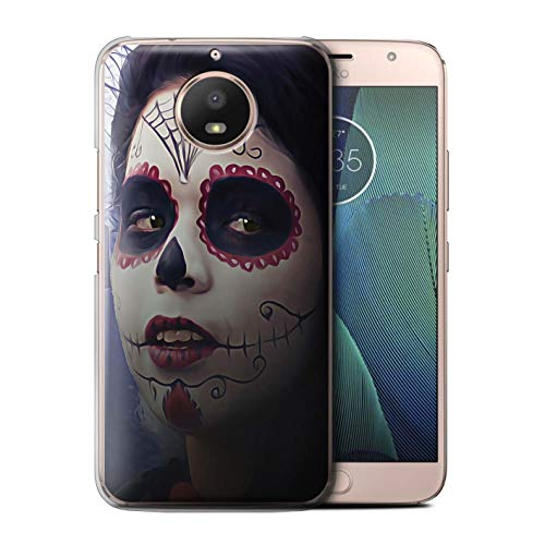 STUFF4 Phone Case/Cover for Motorola Moto E4 Plus 2017 / Halloween Makeup Design/Day of The Dead Festival Collection]()