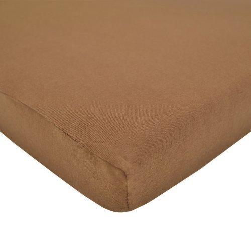 Brown Crib Sheet - 5