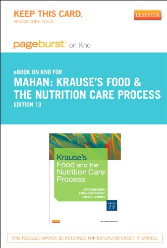 Krause's Food & the Nutrition Care Process - Elsevier eBook on Intel Education Study (Retail Access Card), 13e
