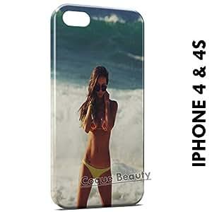 Carcasa Funda iPhone 4/4S Beach & Bikini 2 Protectora Case Cover