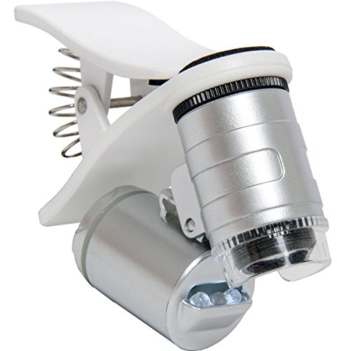 Active Eye AEM60C Universal Phone Microscope 60x with clamp