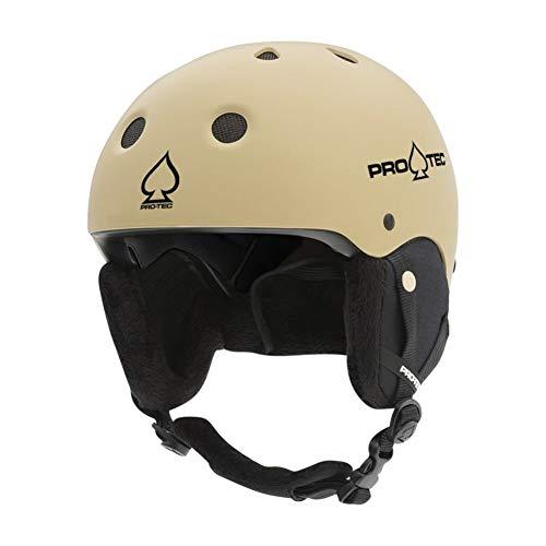 Pro-Tec Unisex Classic Snow Helmet/L/Matte Sand