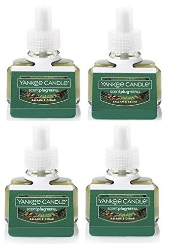 Yankee Candle Bundle Balsam & Cedar ScentPlug Refill 4-Pack by Yankee Candle