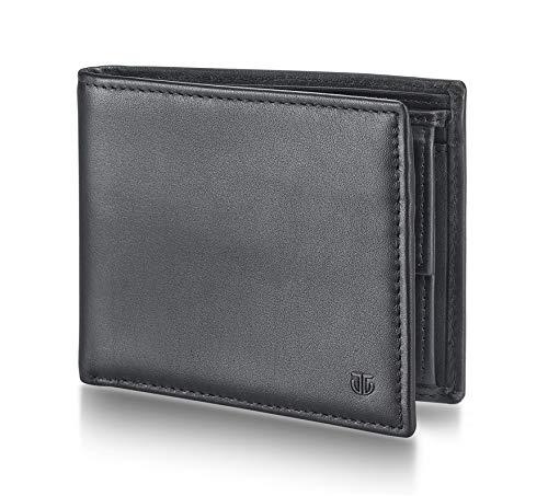 TITAN Black Leather Men's Wallet (TW235LM1BK)