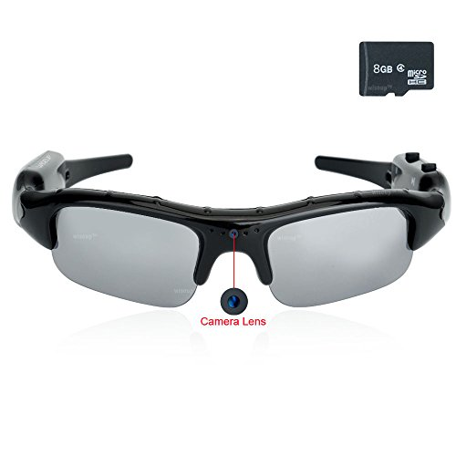 WiseupTM 1280x960 Hidden Glasses Camcorder product image