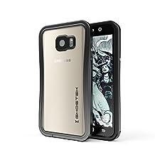 Note 5 Waterproof Case, Ghostek® Atomic 2.0 Series for Samsung Galaxy Note 5 | Full-Body Underwater | Waterproof | Shockproof | Dirt-proof | Snow-proof | Slim Premium Case | Aluminum Frame (Black)