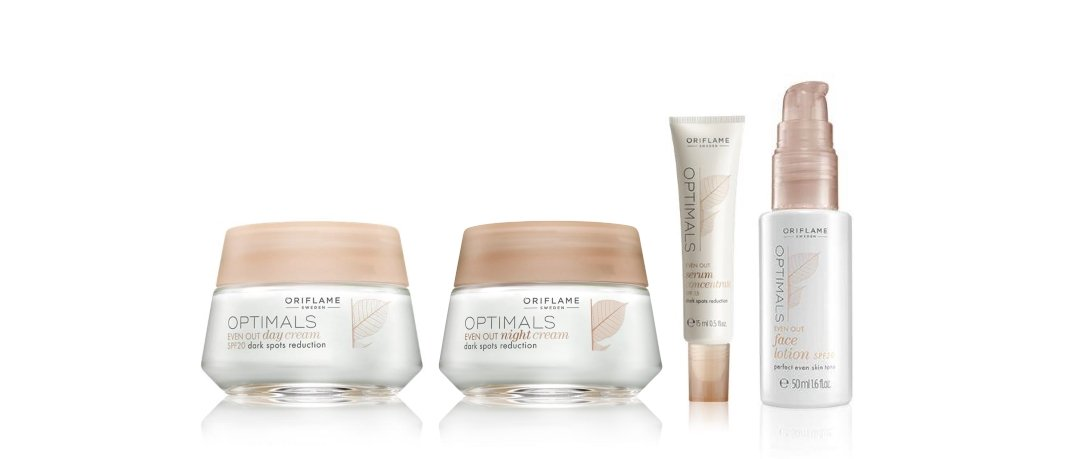 Optimals Even Out Super Pack; (Day Cream, Night Cream, Serum and Lotion)   B01MRF2PLK