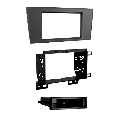 Metra 99-9229G Single/Double DIN Dash Kit for 2001 - 2004 Volvo S60/V70 (Gray) (V70 Volvo)