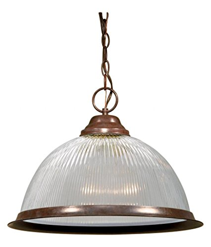 Prismatic Dome Pendant Light - 9