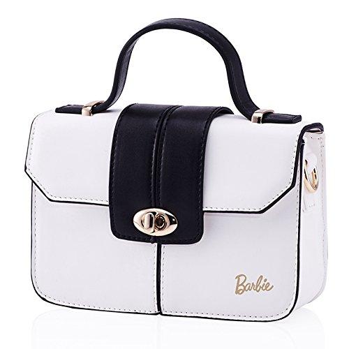 PU série blanc à Sac Barbie noir Mode Epaule en la Filles Moderne à Main Shopping BBFB289 de Mignon pour Elegant Femmes et IfTfHxFYqw
