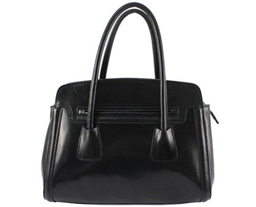 cuir cuir cuir sac cuir luna sac femme luna vegetal Italie sac sac Plusieurs main luna Coloris à cuir marque Luna sac chloly Noir sac femme cuir elegant w1xq0gP