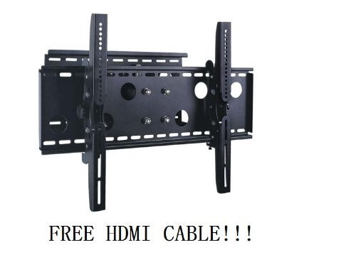 adjustable-tilting-swiveling-wall-mount-bracket-for-lcd-plasma-max-125lbs-3252inch-free-hdmi-cable