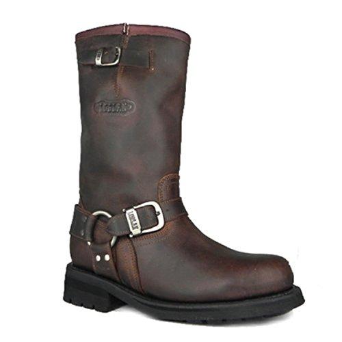 brown Biker Größe Loblan LOBLAN Damen stiefel und Boots 47 0501 braun marron 501 Westernstiefel Herren BWnOnTZP
