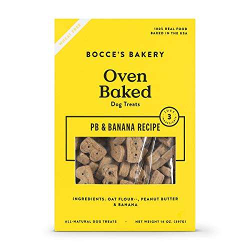 :Bocce'S Bakery Dog Biscuits - Pb & Banana 14 Ounce ()