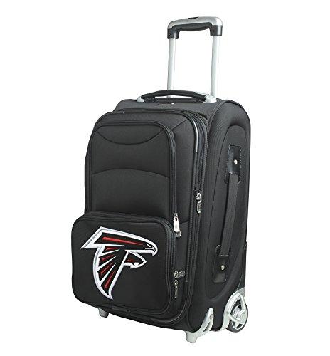 Denco NFL Atlanta Falcons In-Line Skate Wheel Carry-On Luggage, 21-Inch, Black from Denco