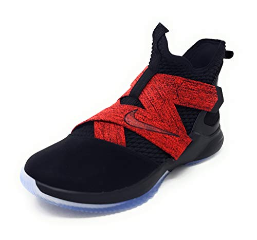 uk availability 4591c a3f15 Nike Men s Lebron Soldier XII Basketball Shoe Black Size 12 M US