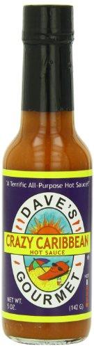 Dave's Gourmet Sauce, Crazy Caribbean, 5 ()