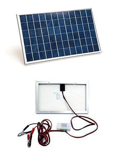 7 opinioni per ECO-WORTHY 10 Watt Pannello solare Kit Sistema: 1pc 10W 12V Modulo solare con 3A