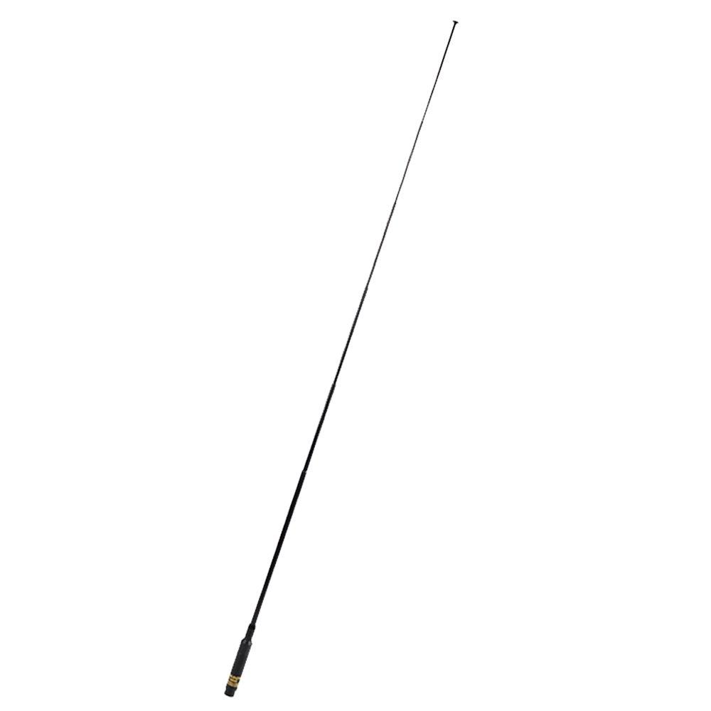 NAGOYA RH660S SMA Male Extendable Telescopic Antenna Dual Band UHF+VHF 42.5-inch for Wouxun KG-UV6D KG-UV8D TYT DM-UVF10 TH-UVF9 Handheld Two Way Radio