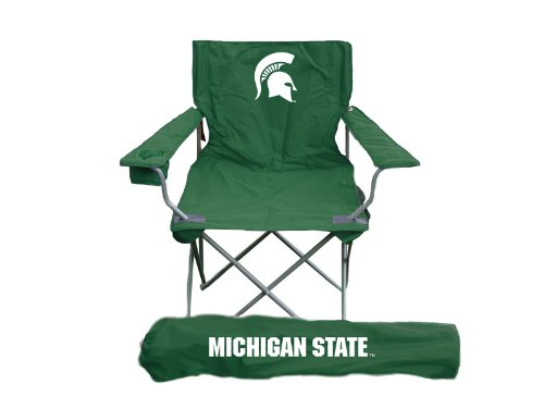 Rivalry NCAA Michigan State Spartans Folding Chair With Bag by Rivalry